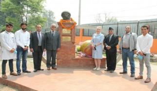 Мероприятие по случаю 60-летия первого полета в космос в РЦНК, Катманду.