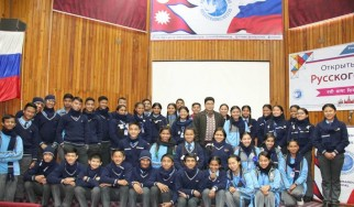 Open Lesson on Russian language in Nepal
