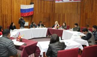 Круглый стол «Современная Россия» с участниками «Нового поколения»