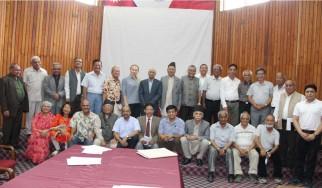 Заседание членов нового Консультативного совета Ассоциации дружбы и культуры России и Непала.