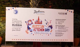 Days of Russian cuisine in Nepal