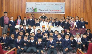 """Master class """"Chemical Experiments"""" for Junior Classes"""