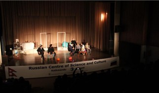 Theatrical production of the play by A.P. Chekhov's Three Sisters